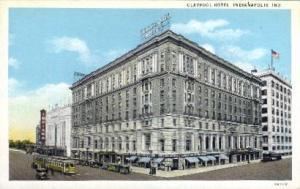 Claypool Hotel Indianapolis IN unused
