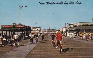 Boardwalk Bike Riders, WILDWOOD, New Jersey, 40-60's