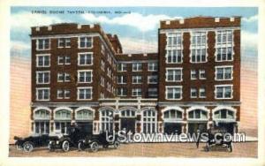 Daniel Boone Tavern Columbia MO 1944 Missing Stamp