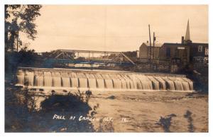 New York  Camden Falls , E. Helmer Factory , Falls , RPC