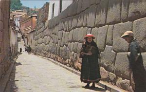 Inca Street , CUZCO , Peru , 50-60s