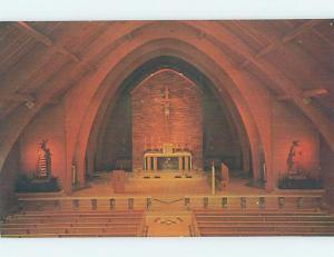 Unused Pre-1980 CHURCH SCENE Chamberlain South Dakota SD A5664