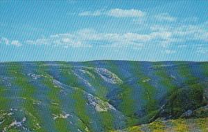 Canada Scene on MacKenzie Mountain Cabot Trail Cape Breton Nova Scotia