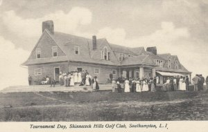 SOUTHAMPTON , L.I. , N.Y. , 1912 ; Shinnecock Hills Golf Club , Tournament Day