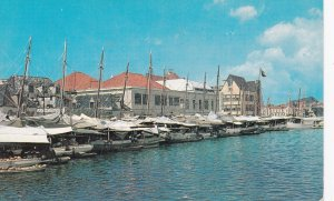 CURACAO, N.A. 50-60s Floating Market
