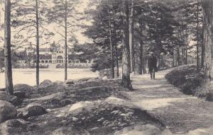 Man Walking, Stora Hotellet, SALTSJOBADEN, Sweden, 1900-1910s