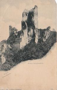 Germany Gruss vom Rhein Ruine Drachenfels