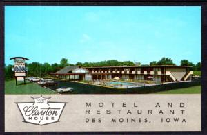 Clayton House Motel and Restaurant,Des Moines,IA