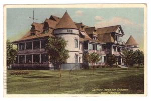 1907 Lakeside Home For Children, Island, Toronto - Postally Used