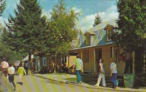 Canada La Rue Principale Main Street Village de Seraphin Ste-Adele Quebec