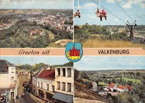 Netherlands Groeten uit Valkenburg Panorama vanaf Uitzichttoren Kabelbaan
