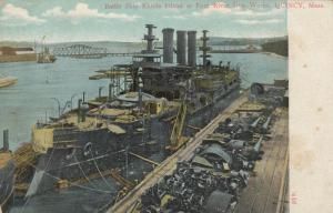 QUINCY , Massachusetts, 1901-07 ; Fore River Iron Works , USS RHODE ISLAND