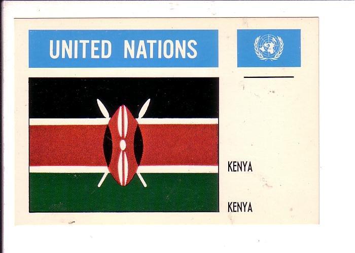Kenya, United Nations Flag