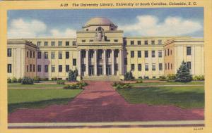 Library , University of South Carolina , COLUMBIA , South Carolina , 30-40s