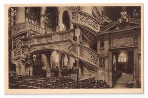 France Paris St Etienne du Mont Church Spiral Stairs Yvon