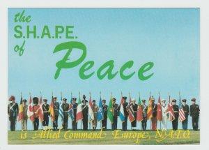 NATO Honour Quard Supreme Headquarters Allied Powers Europe Belgium SHAPE