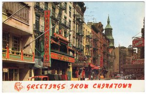 Greetings from Chinatown