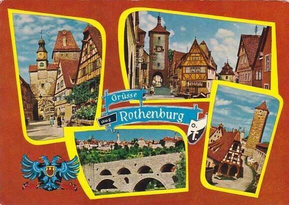 Germany Gruesse Aus Rothenburg