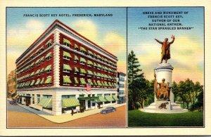 Maryland Frederick Francis Scott Key Hotel Grave and Monument