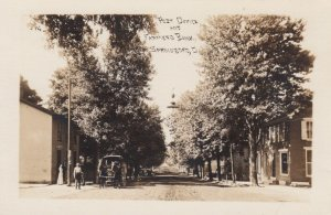 RP: SPRINGBORO, Ohio, 1900-10s; Post Office and Farmers Bank