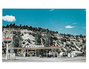 Standard Oil American Gas Station Ramsay Brothers Mt. Carmel Junction Utah