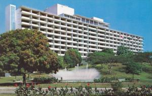 Hotel El Panama Hilton, Tropical Gardens, Fountain, PANAMA CITY, Panama, 40-60's