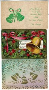 Xmas - 3 - Christmas Cards - Bells