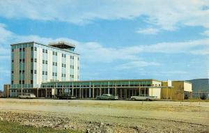 Big Flats New York Chemung Airport Street View Vintage Postcard K63337