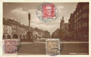 Czech Republic Komotau Marktplatz 02.39