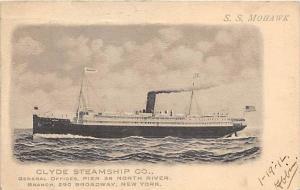 S.S. Mohawk, Clyde Steamship Co