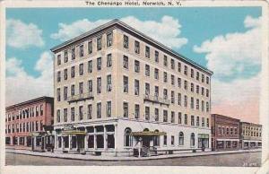 New York Norwich The Chenaango Hotel