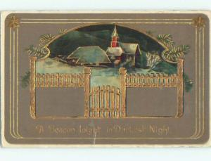 Divided-Back GREAT SCENE Greeting Postcard AA6815