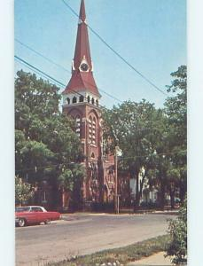 Unused Pre-1980 CONGREGATIONAL CHURCH Almont Michigan MI A7923