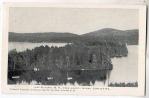 from Liberty Island, Burkehaven, Lake Sunapee NH