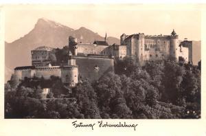 Austria Festung Hohensalzburg  Festung Hohensalzburg