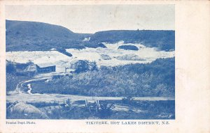 Tikitere, Hot Lakes District, New Zealand, Early Postcard, Unused