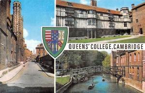 Queen's College River Bridge Pont Cambridge