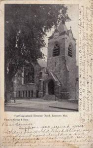 First Congregational (Unitarian) Church, Leominster, Massachusetts, PU-1907