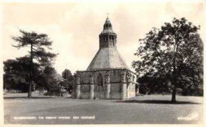 RPPC GLASTONBURY Abbots' Kitchen XIV Century England Vintage Postcard c1920s