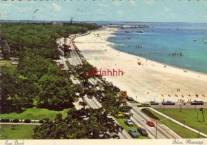 Continental-Large beautiful setting of EAST BEACH, BILOXI, MS 1978 GULF COAST