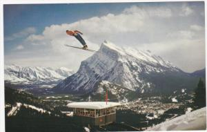 Banff Ski Jump, Judges Tower , Mt Norquay , Alberta , Canada , 50-60s