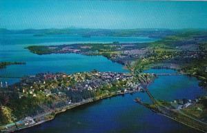 Vermont Newport Aerial View