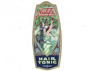 Nulife Hair Tonic Trade Mark Unused Label