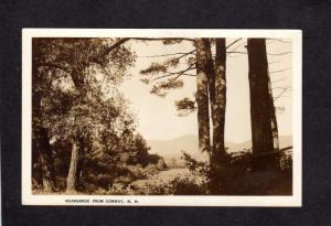 NH Kearsarge Mtn Mountain from Conway New Hampshire Real Photo RPPC Postcard