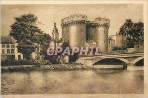 Old Postcard Verdun La Porte Chaussee
