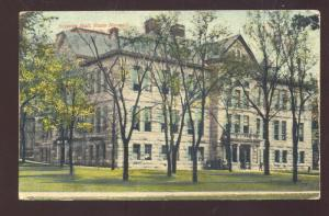 WARRENSBURG MISSOURI CENTRAL MO. STATE UNIVERSITY SCIENCE HALL OLD POSTCARD