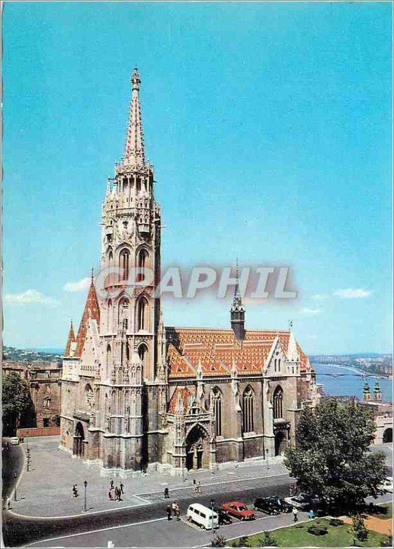 Modern Postcard Budapest Matthias church
