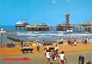Netherlands Scheveningen Holland Promenade Plage Beach The Pier