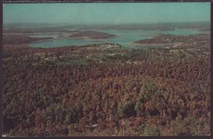 Bird's Eye View,Bull Mountain,Bull Shoals,AR Postcard BIN