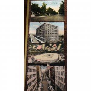4 Postcards 1905 Kansas City MO